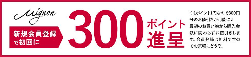 ポイント300円